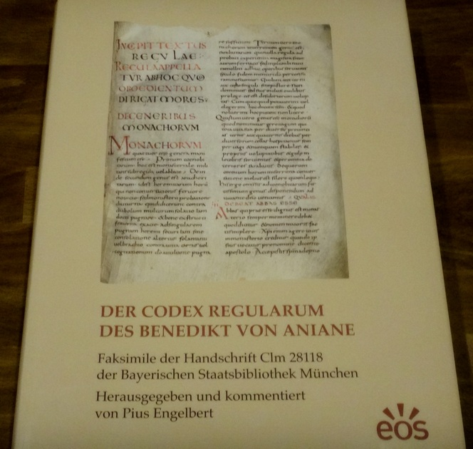 2016 03 30 Codex Regularum Faksimile Edition 01